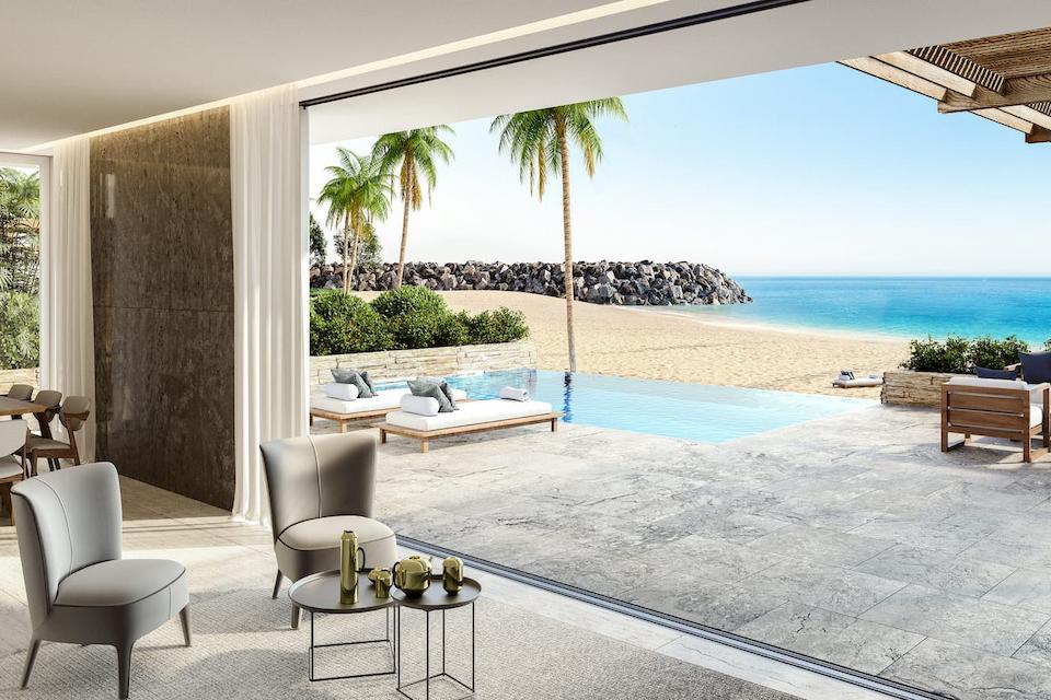 Beach Villa main