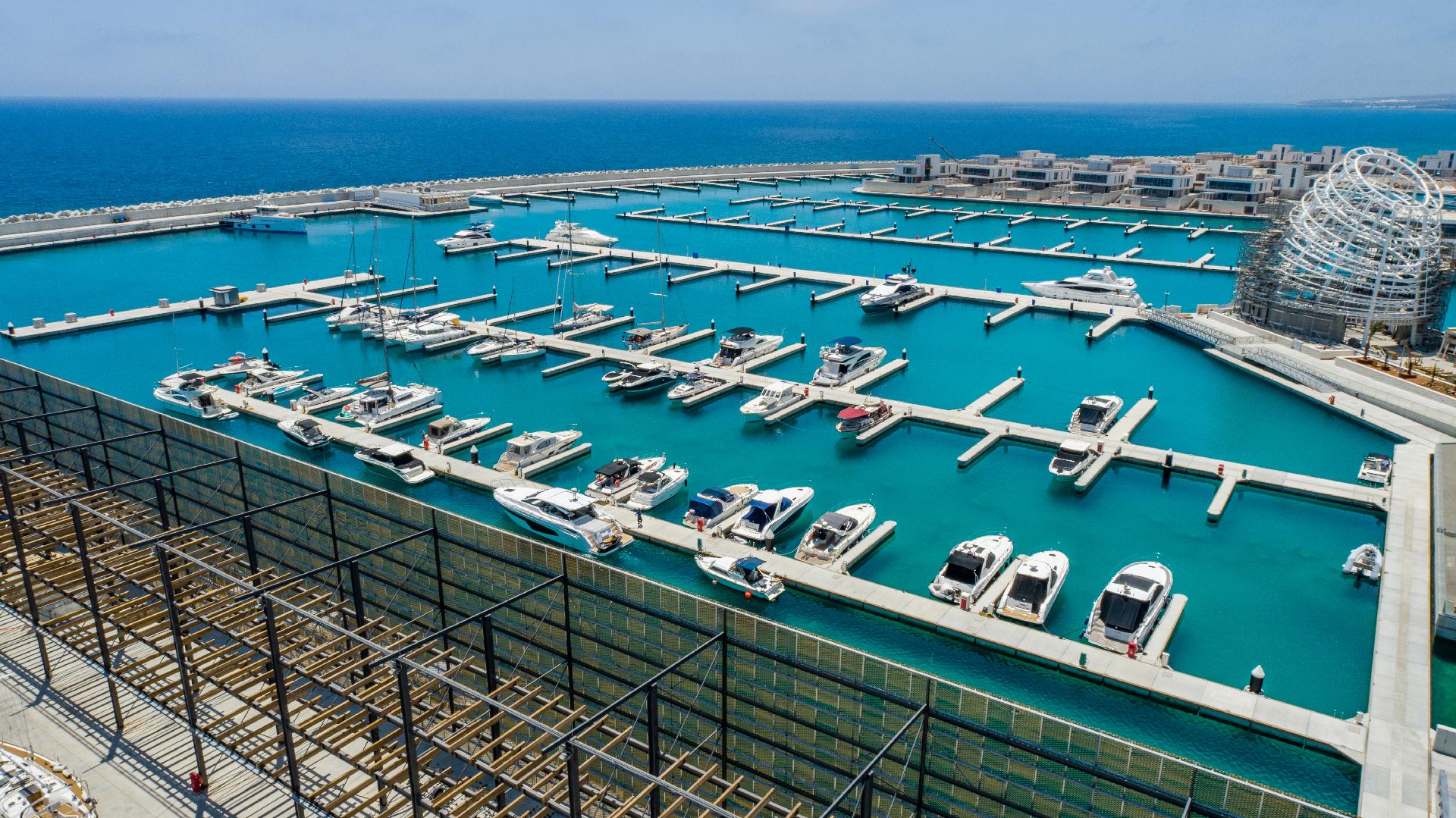 Ayia Napa Marina - Berthing Facilities